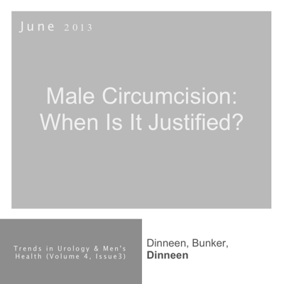 Justification of male circumcision